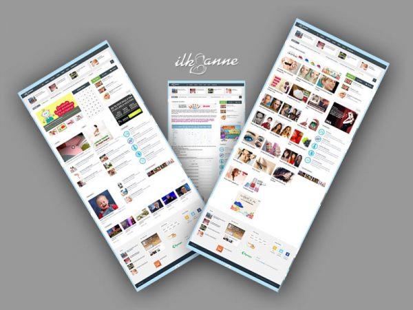 İlkanne Web Sitesi